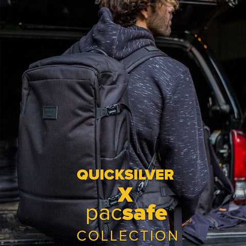 Quiksilver 2018 | Pacsafe Lifestyle Backpack Collection