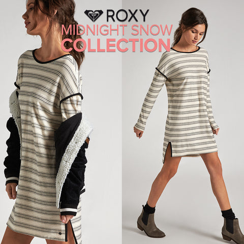 Roxy Summer 2018 | Midnight Snow Collection Style Book