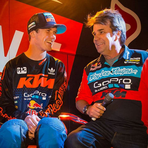 Troy Lee Designs Professional Motorcycle Riders - Team KTM Factory KTM Motocross Supercoss Riders 2016