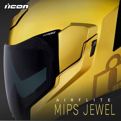 Icon Racing Motorcycle Helmets | Introducing the Airflite Mips Jewel
