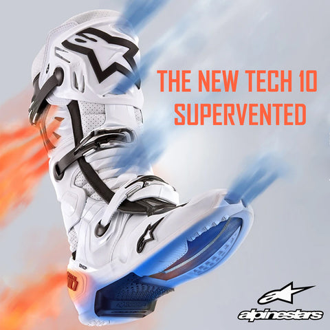 Alpinestars 2021 | Introducing The New Tech 10 Supervented Off-Road Motorcycle Boots