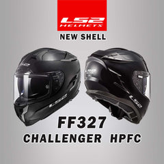 LS2 Motorcycle Helmets 2019 | Challenger HPFC FF327 Street Collection