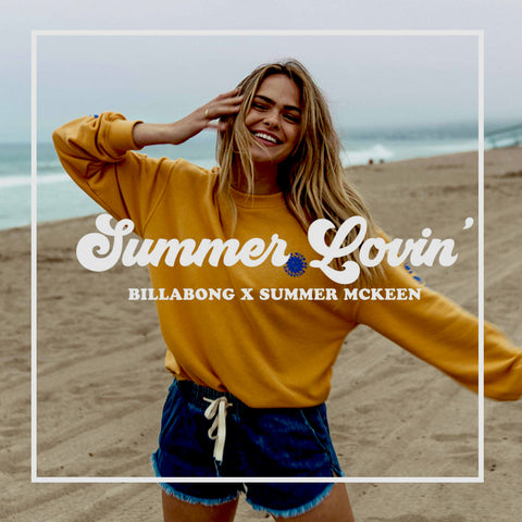 Summer Lovin' Billabong X Summer Mckeen Women's 2019 Lookbook
