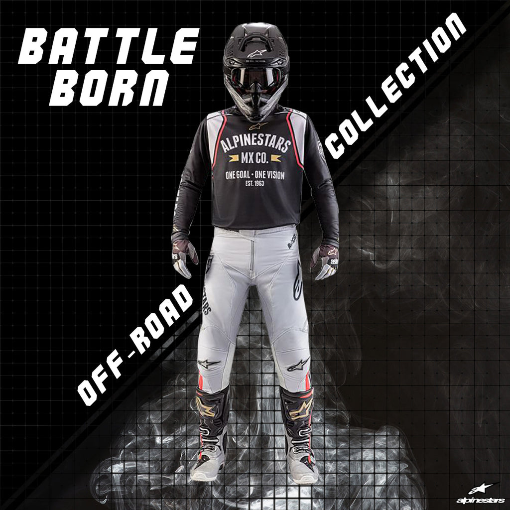 Alpinestars 2018 | Battle Born Racer Tech Off-road Gear Collection