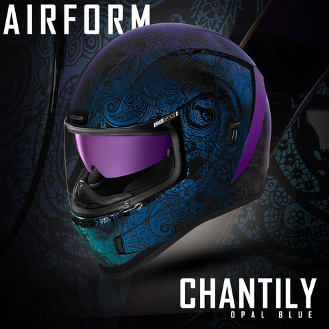 Icon Racing Street Motorcycle Helmets | Introducing the Airform Chantilly
