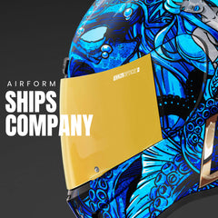 Icon Racing Airform Ships Company | Motorcycle Helmets 2021 Collection