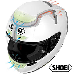 SHOEI Helmets & Accessories Active Safety Technology