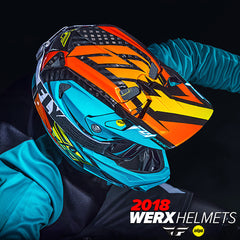 Fly Racing MX 2018 | Werx Mountain Bicycle Racing Helmets