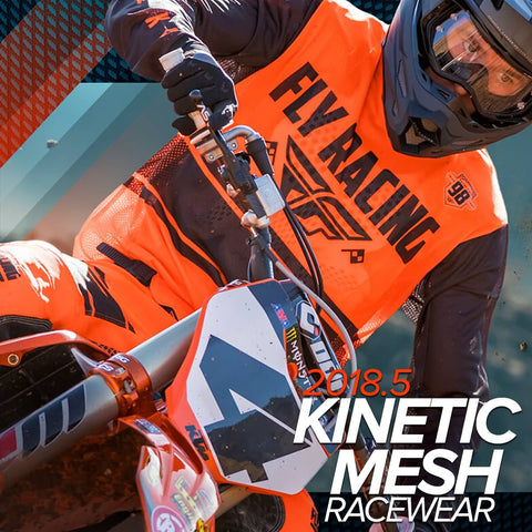 Fly Racing MX 2018.5 | Kinetic Mesh Motorcycle Racewear