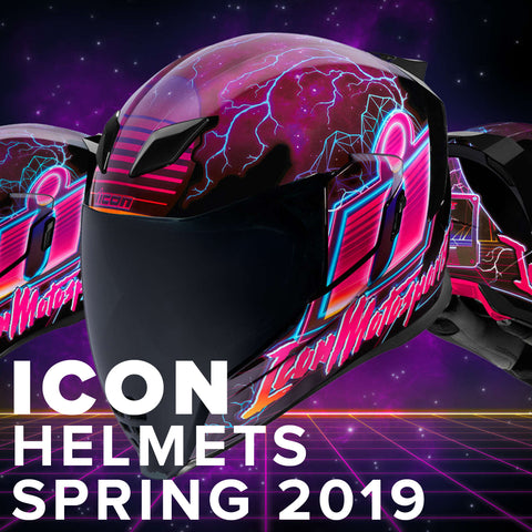 Icon 2019 | Spring Street Motorcycle Helmets Collection