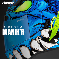 Icon Racing Motorcycle Helmets | Introducing the Airform Manikr