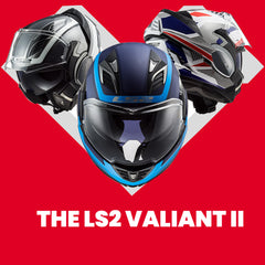 LS2 Motorcycle Street Modular Helmets | Introducing the Valiant II Collection