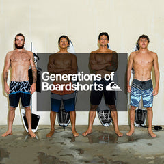 Quiksilver Spring 2018 | Generations of Boardshorts Mens Collections