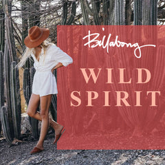 Billabong Summer Women's Lifestyle 2019 | Wild Spirit Beachwear Collection