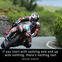 Motorcycle Streetbike Racer Michael Dunlop Isle Of Man TT Highlights