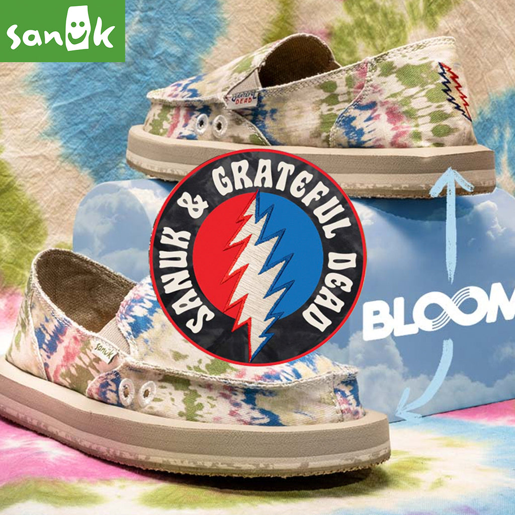2021 Lifestyle Apparel Collection | Sanuk X Grateful Dead Collaboration
