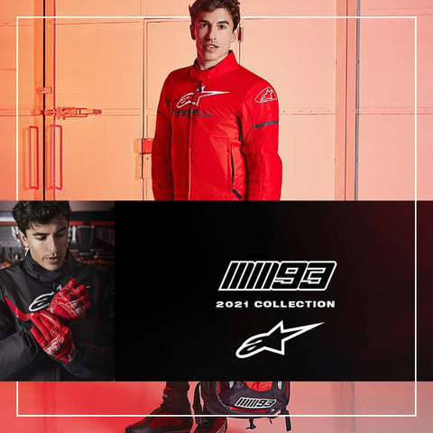 Alpinestars X Marc Marquez MM93 Street Racing Protective Gear Collection