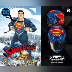 HJC Motorcycle Street Helmet | RPHA Series 11 PRO Superman