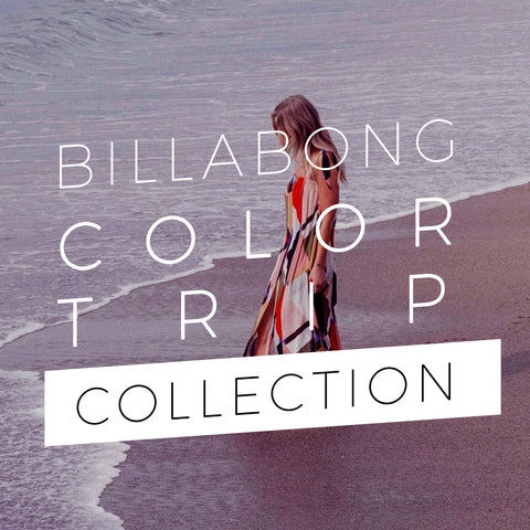 Billabong Fall 2018 | Women's Beachwear Color Trip Collection Lookbook
