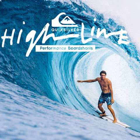 Quiksilver Spring 2018 | Highline Performance Boardshorts Collection