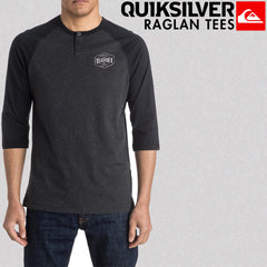 Quiksilver Surf Fall 2017 Mens Beach Raglan Tees Lifestyle Lookbook