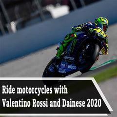 Ride Motorcycles With Valentino Rossi And Dainese 2020
