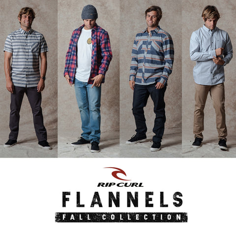 Rip Curl Surf 2017 Fall | Mens Lifestyle Flannels Shirts