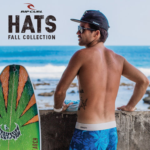 Rip Curl Surf 2017 Fall | Mens Lifestyle Beach Hats