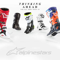 Alpinestars Introduces the Tech 10 Motorcycle Off-Road Boots