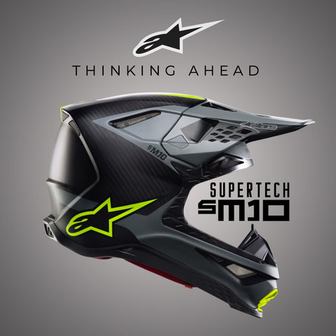 Alpinestars 2019 | Supertech M10 Helmet Collection