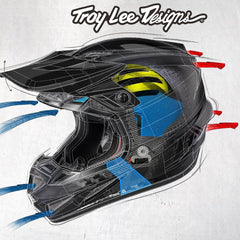 Troy Lee Designs TLD SE4 Comparison Chart
