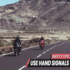 16 Motorcycle Group Riding Hand Signals
