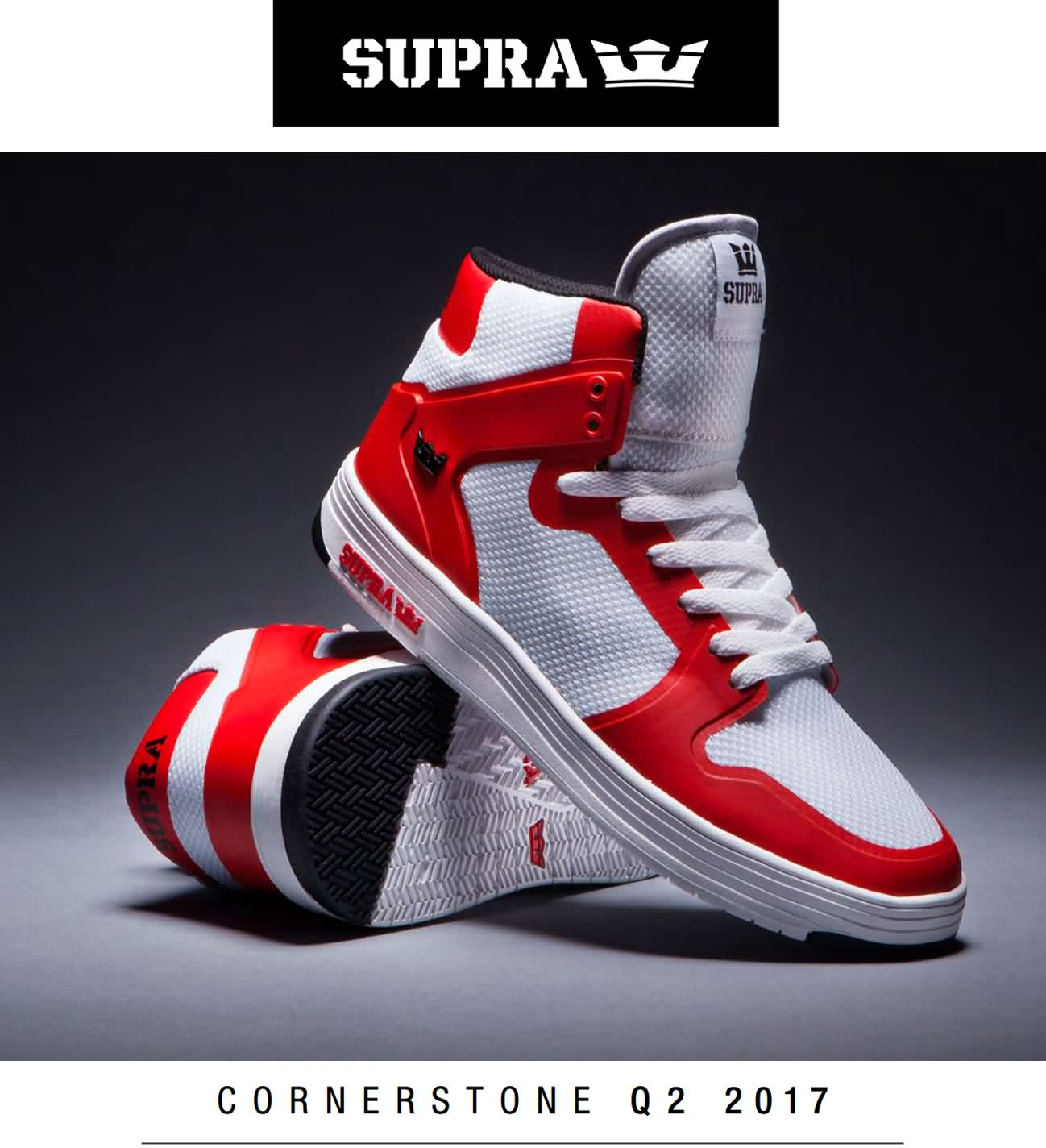 Supra Mens Summer 2017 Q2 Cornerstone Sports Footwear Catalog