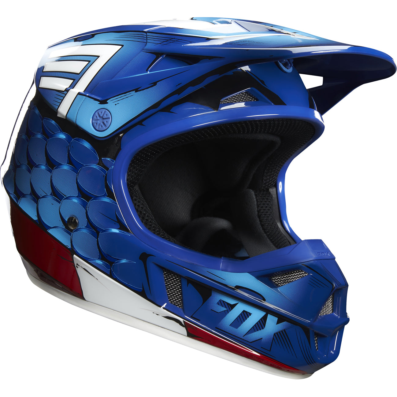 Fox Racing Motorsports Youth 2017 Marvel Helmets Collection