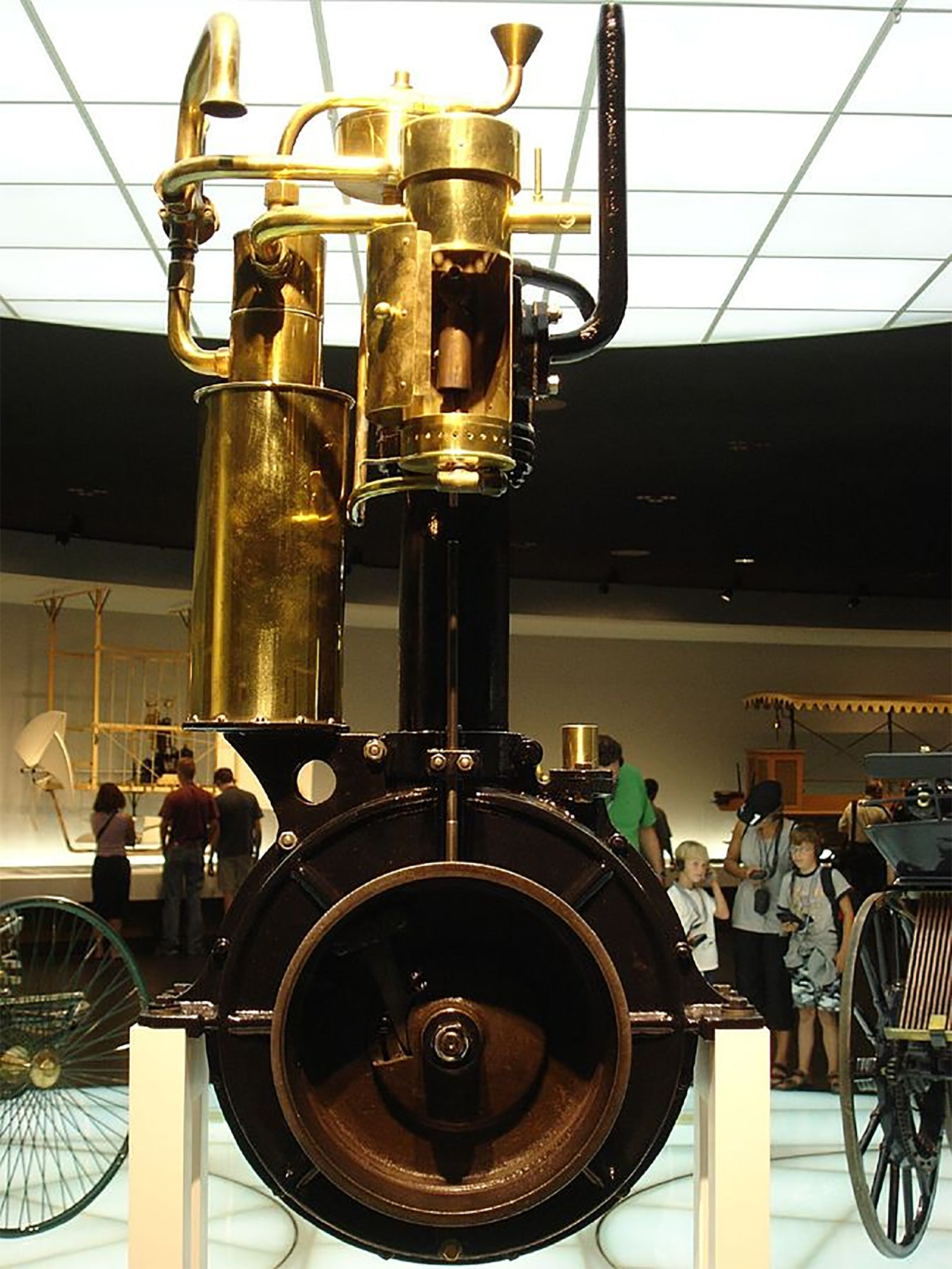 The clock engine of 1886