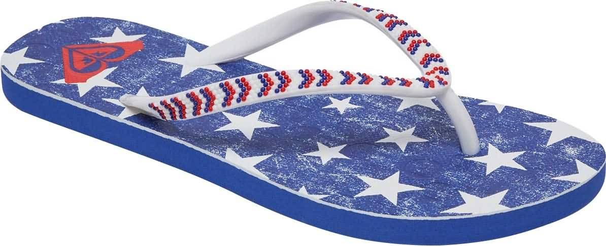 Roxy Summer 2017 Womens 4th of July Capsule Beach Sandals Footwear Collection
