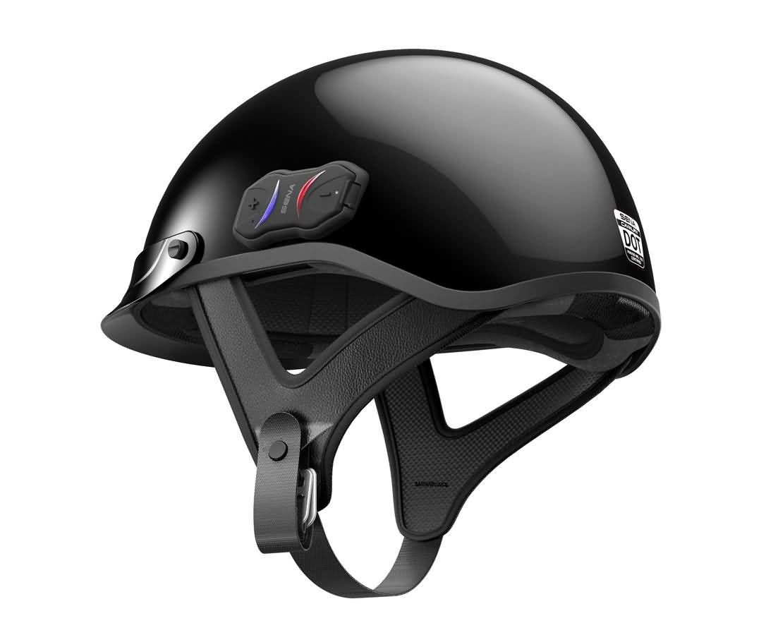 Sena The Cavalry Bluetooth Motorcycle Half Helmets Overview
