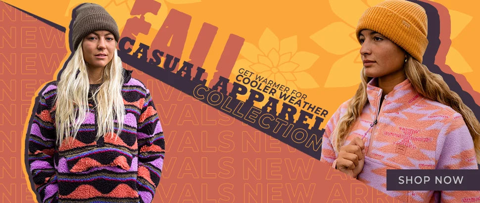 Fall Casual Apparel Collection New Arrivals!