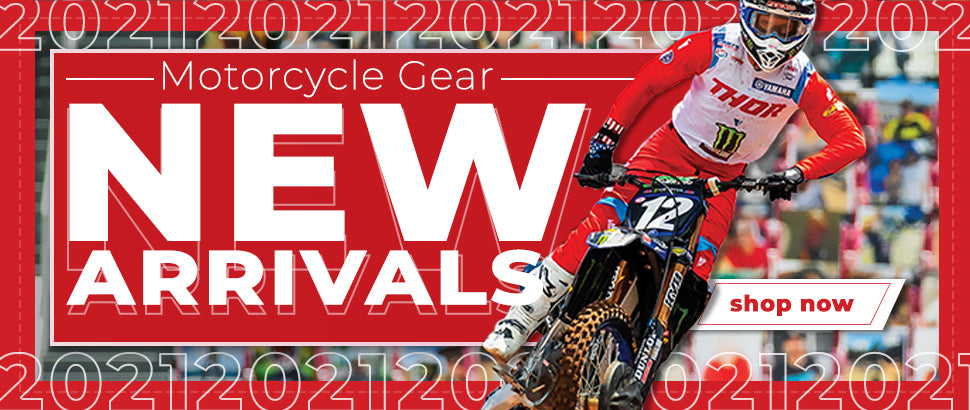 Motorcycle Gear New Arrivals 2021