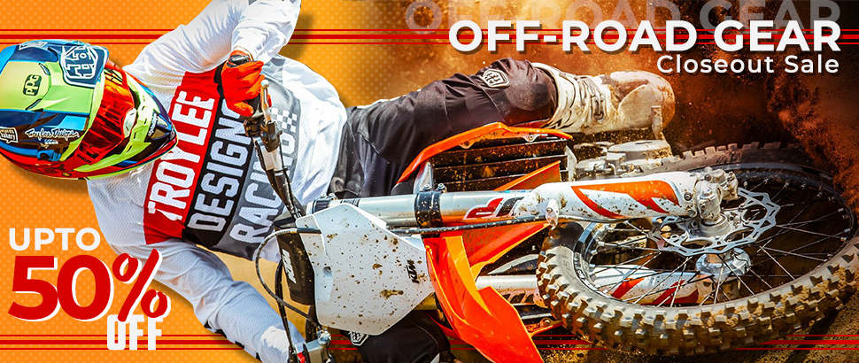 Off-Road Gear Closeout Sale 2020