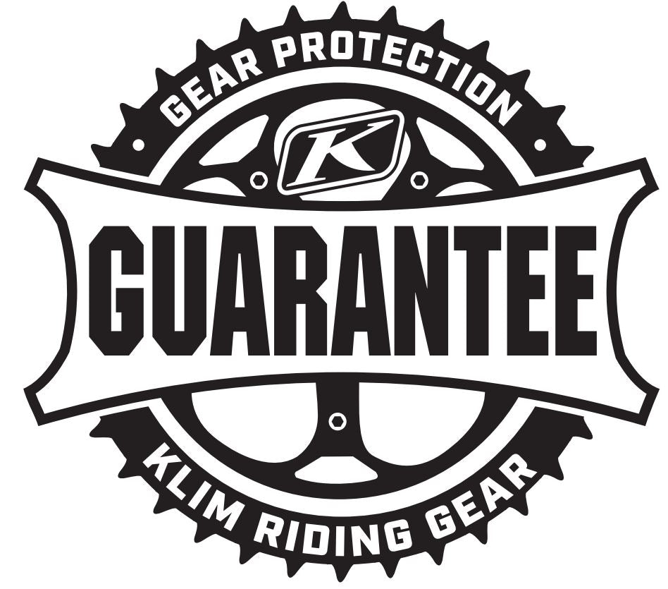 KLIM Motorcycle Gear Protection Guarantee 5 year protection Haustrom.com
