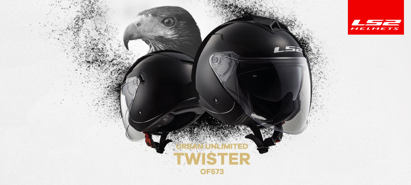 LS2 Motorcycle Helmets 2018 | Twister OF573 Cruiser Collection