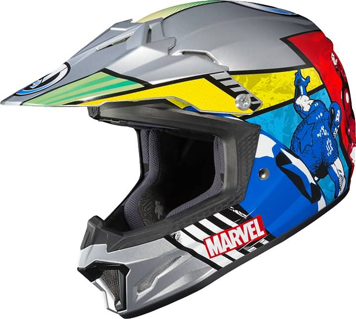 HJC 2017 Officially Licensed Marvel Graphic Helmets Collection