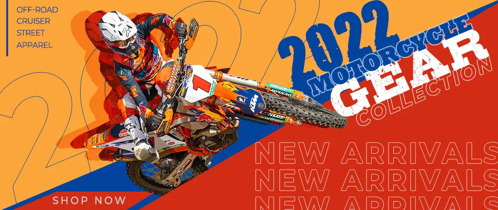 2022 Motorcycle Gear New Arrivals!