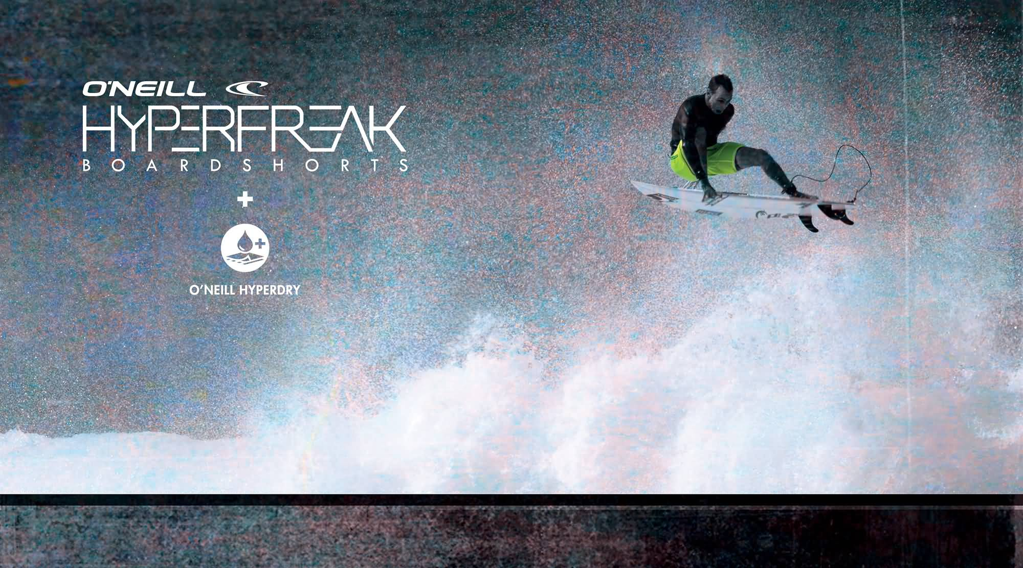O'neill Surf 2017 Hyperfreak Series Surfing Boardshorts Collection