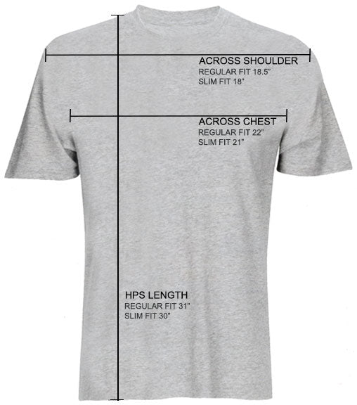 Oakley TEE FIT GUIDE