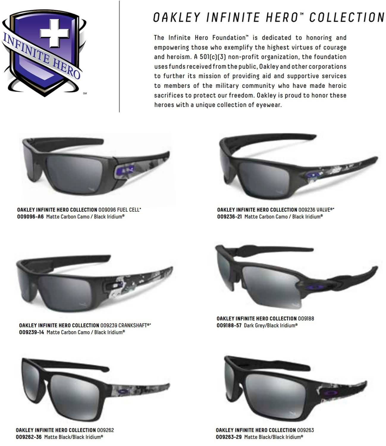 fde74d05c6 Sunglasses Oakley Fuel Cell Infinite Hero Edition « Heritage Malta