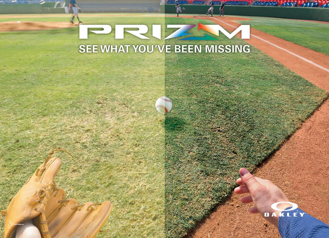 PRIZM by Oakley for Baseball