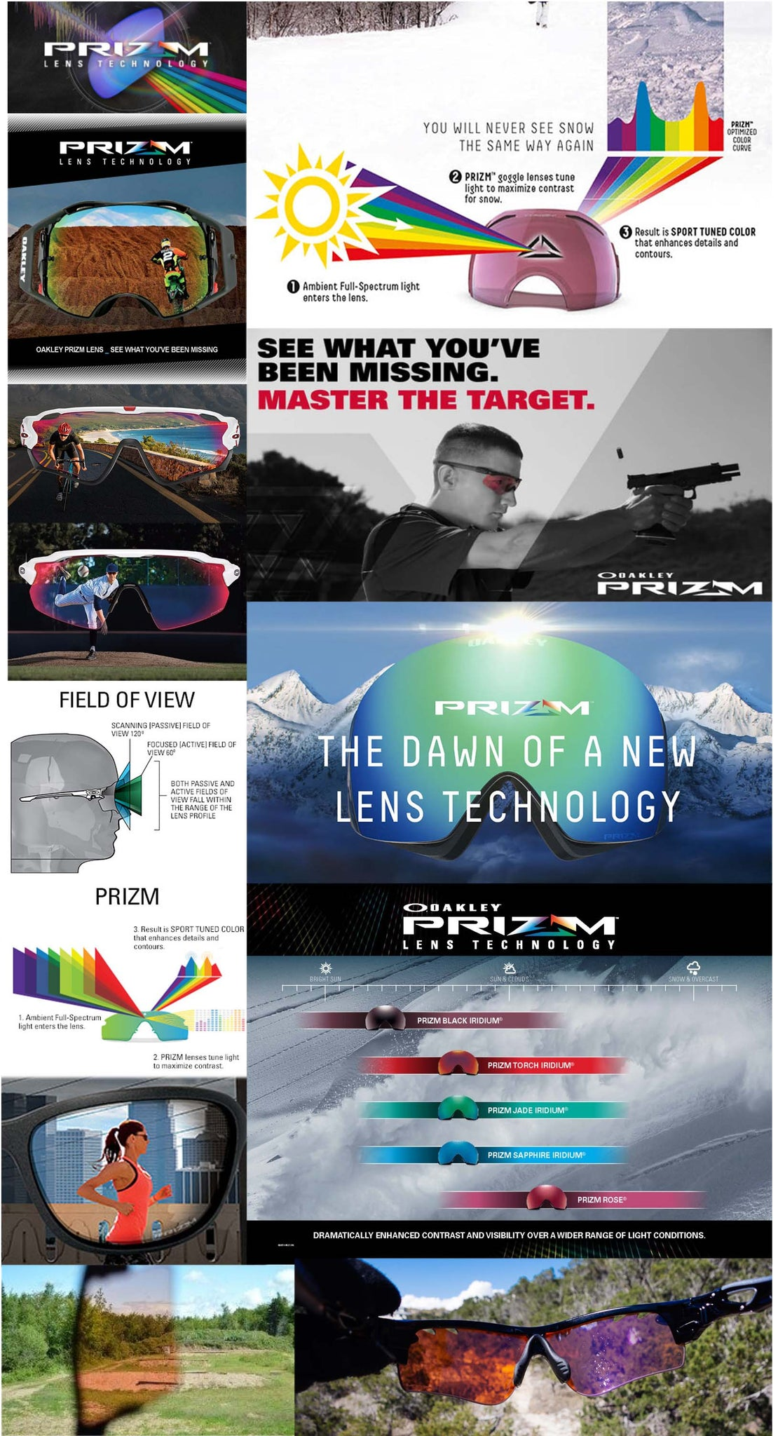Oakley Prizm Technology MAP at a glance at Haustrom.com