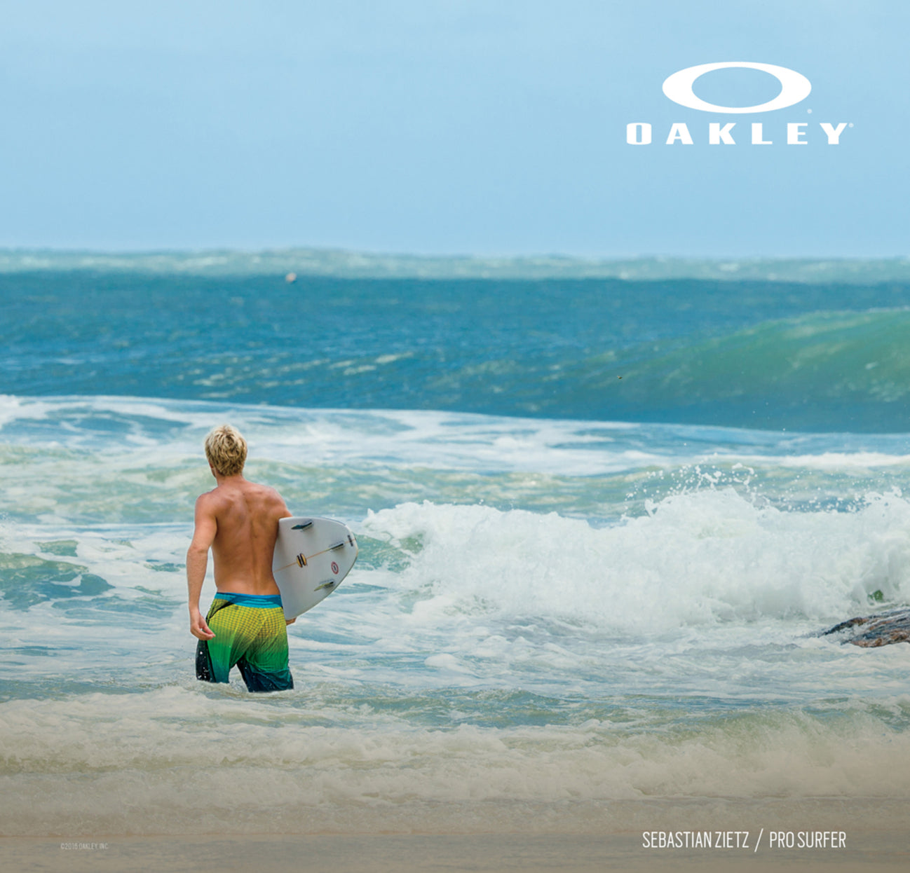 Oakley Signature Series Campaign 2016 01 - Surf Beach Boardshorts